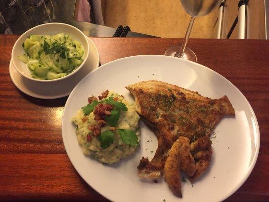 Frischfisch-Lokal Zum Smutje: Steinbutt <3