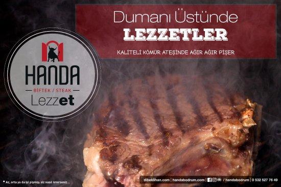 Handa Biftek/Steak: Dumanı Üstünde Lezzetler