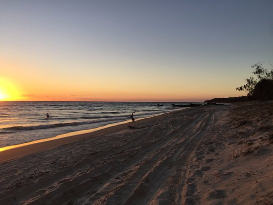 sunset at Bulwer Beach