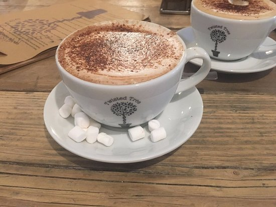 Кастлфорд, UK: Hot Chocolate