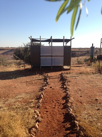 Gochas, Namibia: Campsite Ablutions