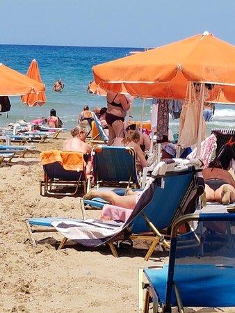 Yassas Beach Bar : Heerlijk strand