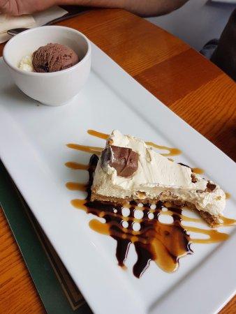 Isla de Wight, UK: Snickers Cheesecake