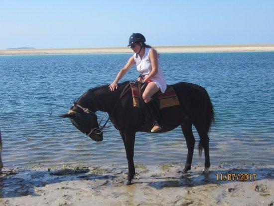 Vilanculos, Mozambique: uma boa amiga