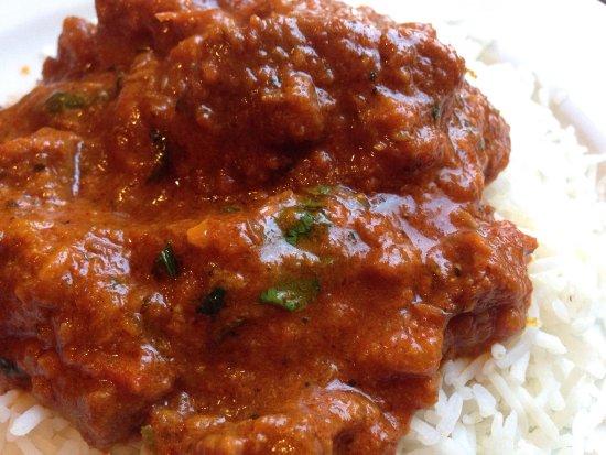 Sudbury, MA: Kashmiri goat Rogan Josh - spicy hot