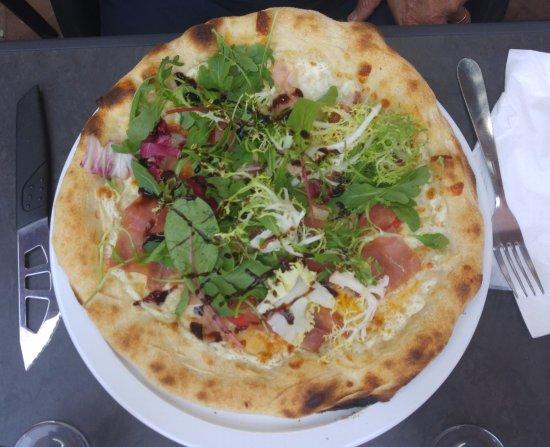Ramonville Saint-Agne, فرنسا: Pizza au jambon