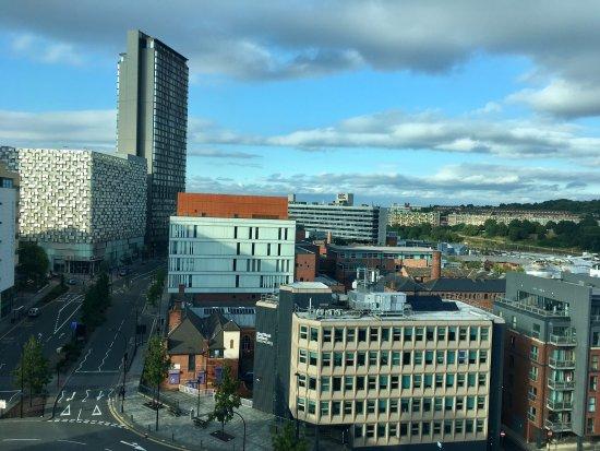 Jurys Inn Sheffield: View from 9th floor