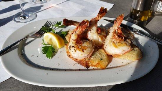 Ristorante Francesco: Scampi, geschmacklich und zubereitet der extra Klasse, lecker !