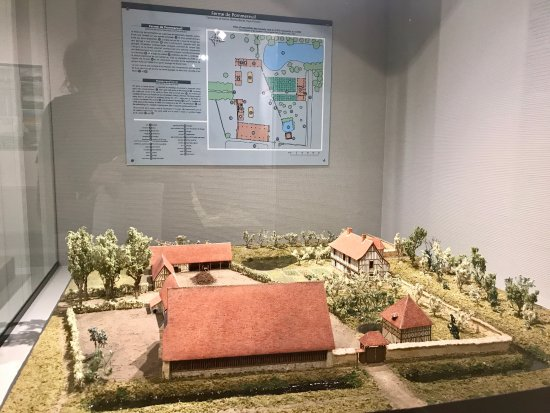 Musée de Normandie : One of three displays about the farms in the region