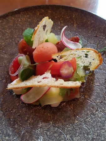 Epping, UK: The tomato salad - utterly divine.