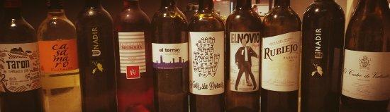 Retamar, España: Algunos de nuestros vinos