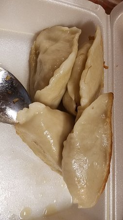 Peabody, MA : Greasy undercooked fried pork dumplings