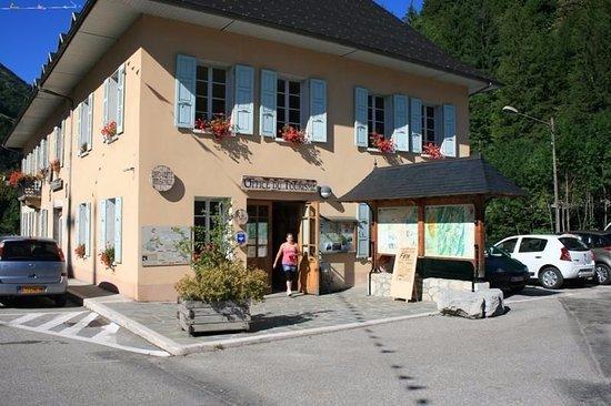 Saint-Pierre-d'Entremont, France : Accueil touristique des Entremonts