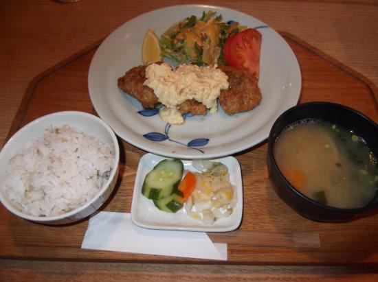 Kasuga, Япония: 地鶏チキン南蛮定食ライト