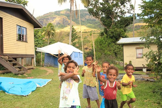Koroyanitu National Heritage Park: The local children of Abaca