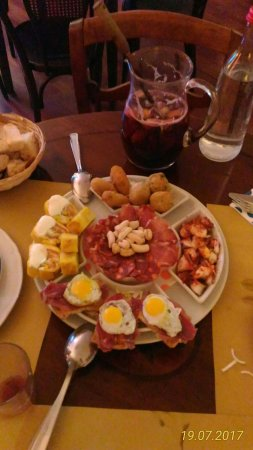 Ristorante Spagnolo La Posta: assaggi di tapas