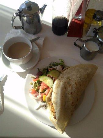 Cafe Ganesh: Porciones abundantes y delicioso sazón!