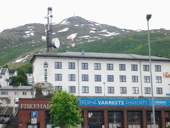 Narvik, Norway: fiskehallen