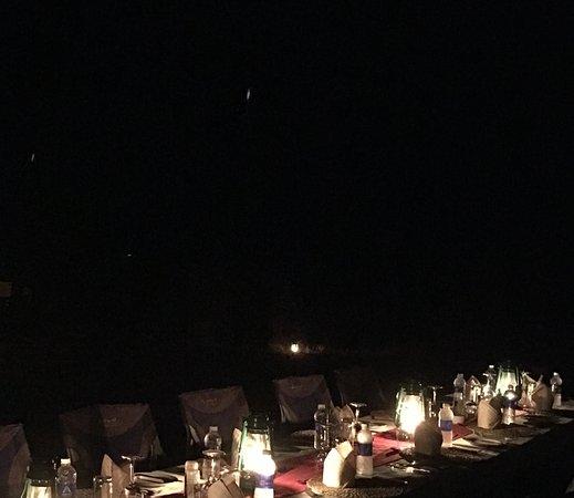 Bush Dinner Picture Of Royal Zambezi Lodge Lower