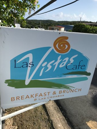 Las Vistas Cafe at Siete Mares Bay Inn: Amazing restaurant at the tip of the island with breathtaking views of nearby islands and landsc