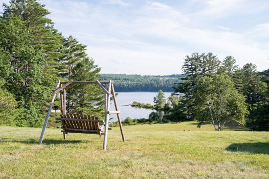 Waterford, ME: Swing with a view