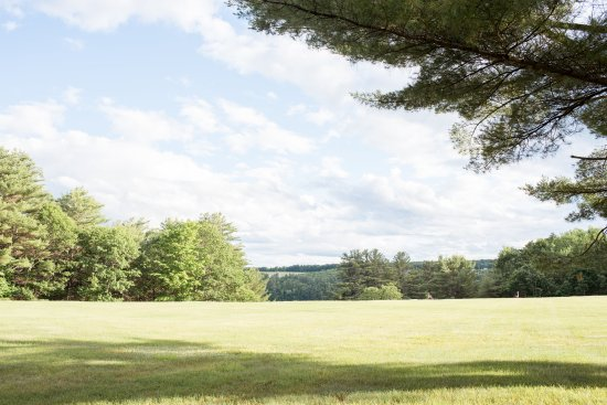 Waterford, ME: Large flat lawns with lake views. Perfect for outdoor events.