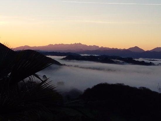 Hotel El Mirador de Ordiales : Mar de nubes