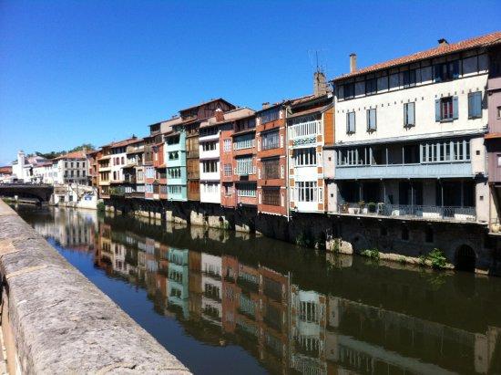 Cavanac, Fransa: Les Maison sur L'Agout à Castres
