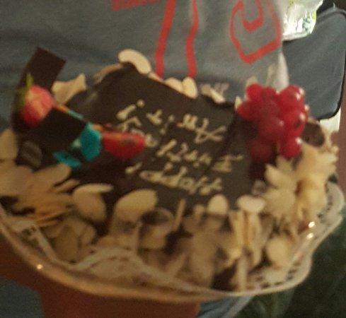 Birthday cake for my son Picture of Sheraton Zagreb Hotel Zagreb