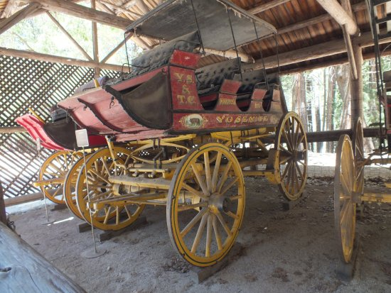 Wawona, CA: One of the traditional stage coaches