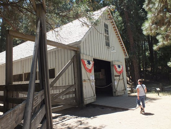 Wawona, CA: The dance hall, dances are organised on certain days and times