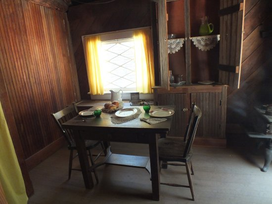 Wawona, CA: Inside the pioneer centre itself