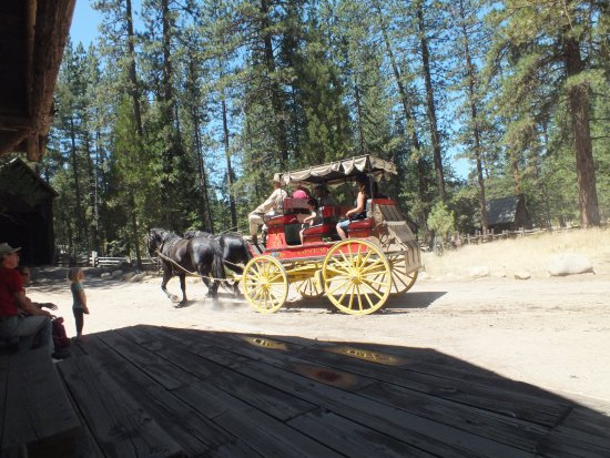 Wawona, CA: Off for a short ride