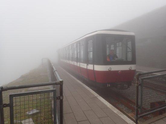 Llanberis, UK : The Train