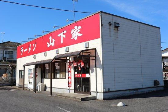 Toride, Japón: 中は、昔ながらの中華そば屋って感じです。
