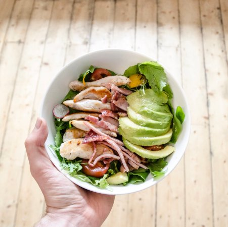 Settle, UK: Chicken Bacon & Avocado Salad - From our Summer Menu