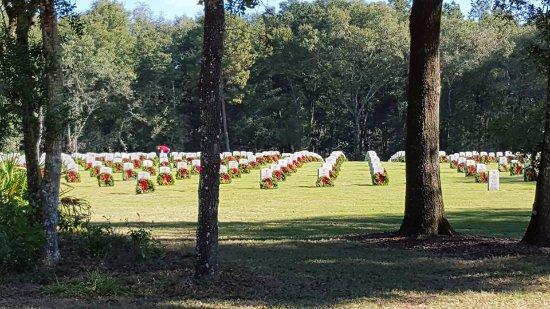 Columbia Falls, ME: Florida National Cemetery ~ Bushnell, Florida