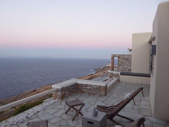 Kastro, Greece: Balkon der Suite Orion