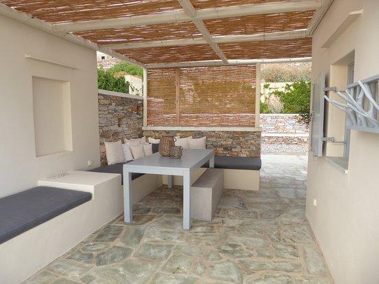 Kastro, Greece: Gemütliche Sitzecke der Orion-Suite