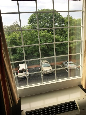 Greenfield, MA: Vanuit de hotelkamer