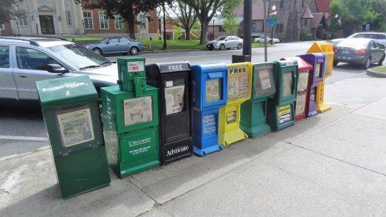 Greenfield, MA: Een krantje?