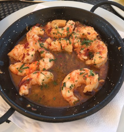 Kirkintilloch, UK: Garlic & Chilli King Prawns