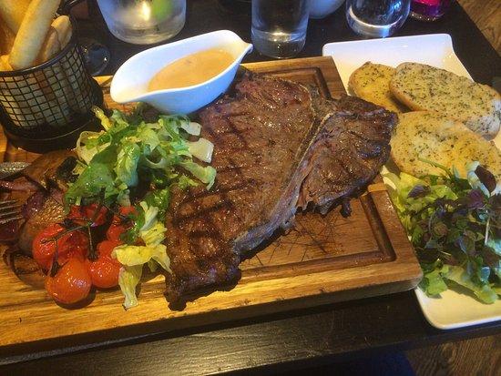 Inverurie, UK: Porterhouse restaurant, fantastic!!