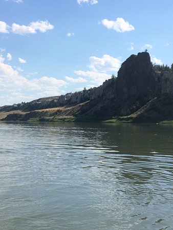 Fort Benton, MT: A geological formation of shonkinite