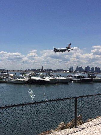 Winthrop, MA: The planes landing a Logan Airport