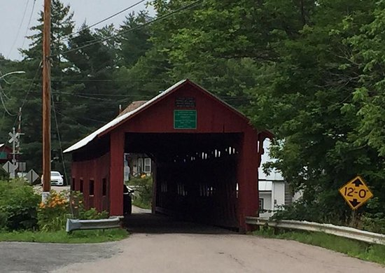 Falls General Store: Visit the historic covered bridge right next door