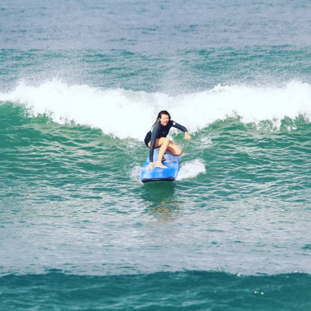 Desu de Bali Surf - Surfing Courses : The smile on my face says it all :)