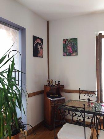 Moulinet, France : Déco exotique