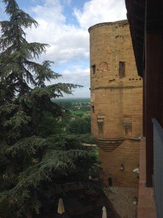 Benavente, España: Torre del Caracol desde una de las habitaciones.