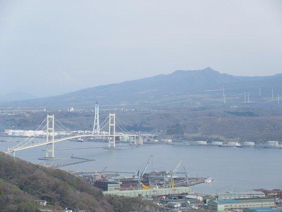 Muroran, Japón: 展望台から